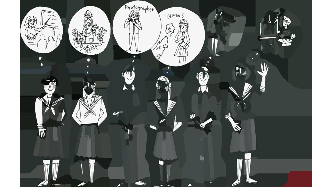 自ら学び、自らの可能性を広げる。これは HAN-KOH が掲げる育てたい生徒の姿です。